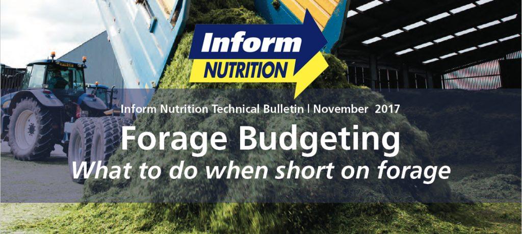 Forage Budgeting