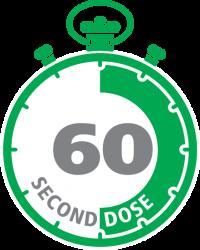 60 sec dose medal