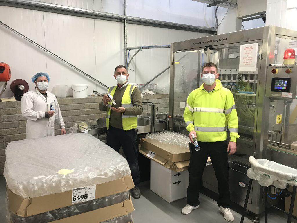 Hand Sanitiser Manufacture, Cork